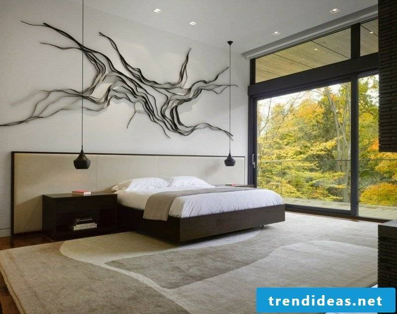 Bedroom decorate minimalist original wall decor
