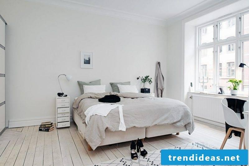 Bedroom decor Scandinavian elegance and comfort