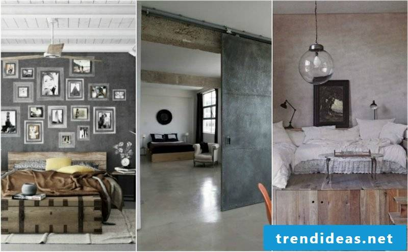 3 bedrooms industrial style