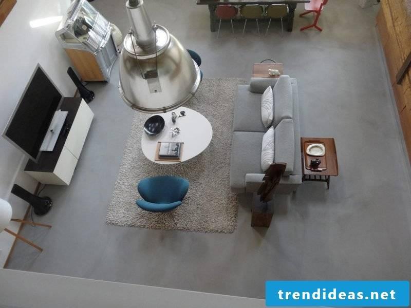Concrete Cire concrete floor