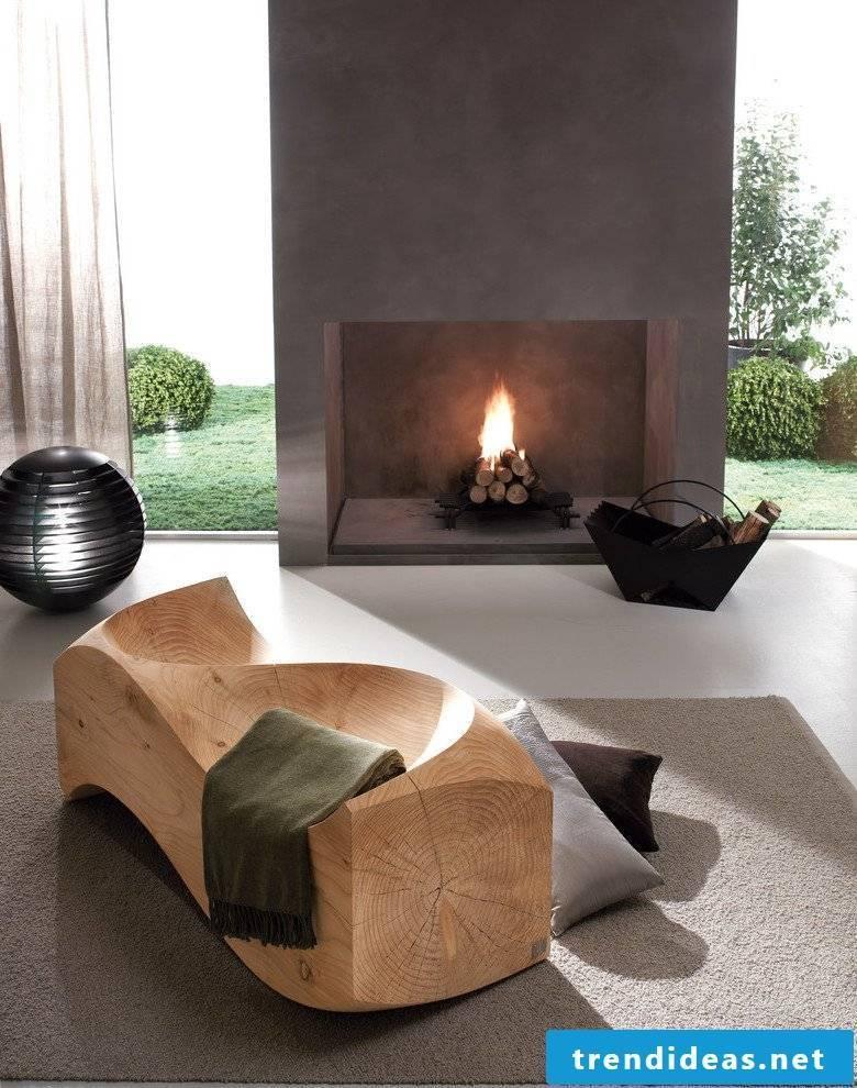 Concrete Cire countertop for industrial kitchen