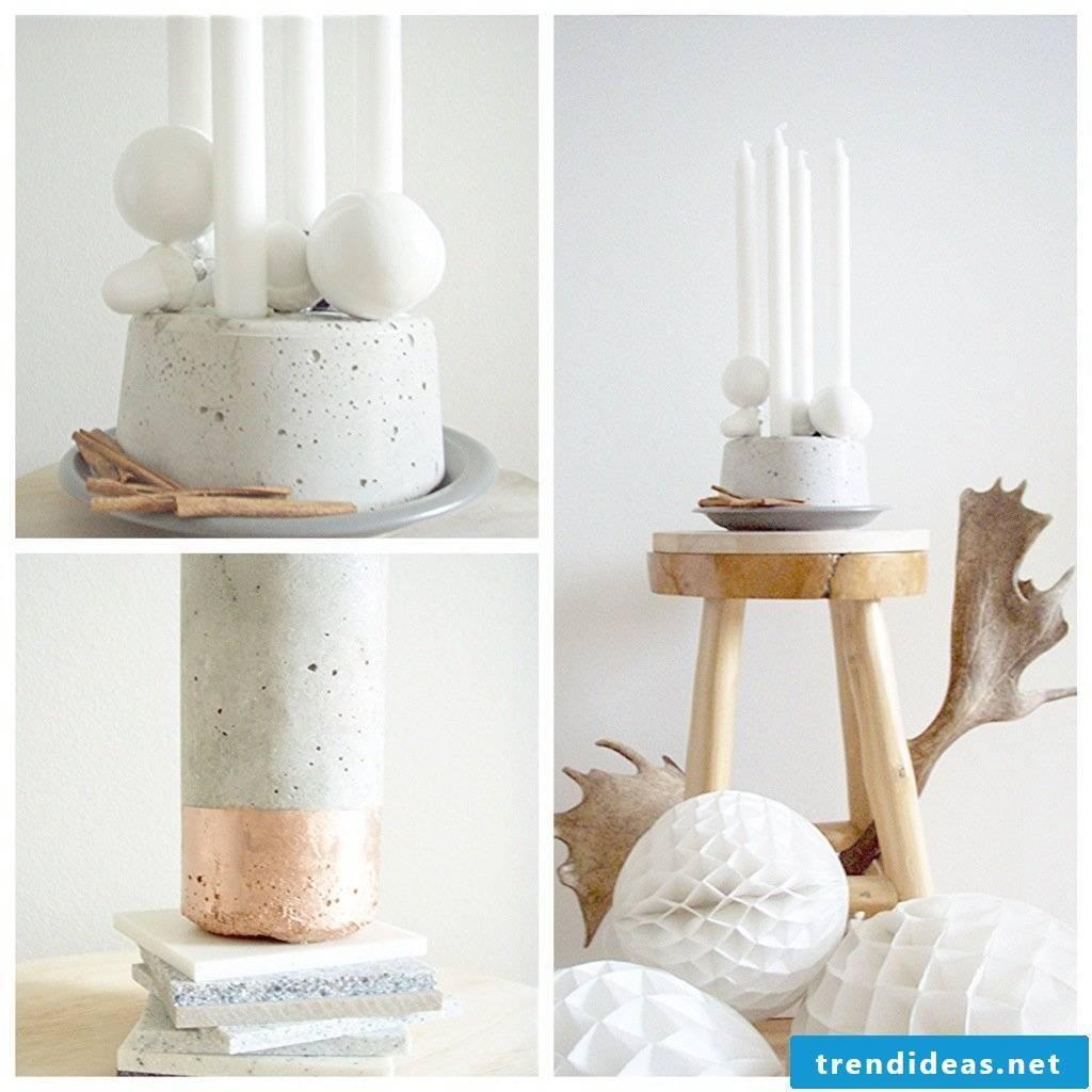 Scandinavian concrete decoration ideas