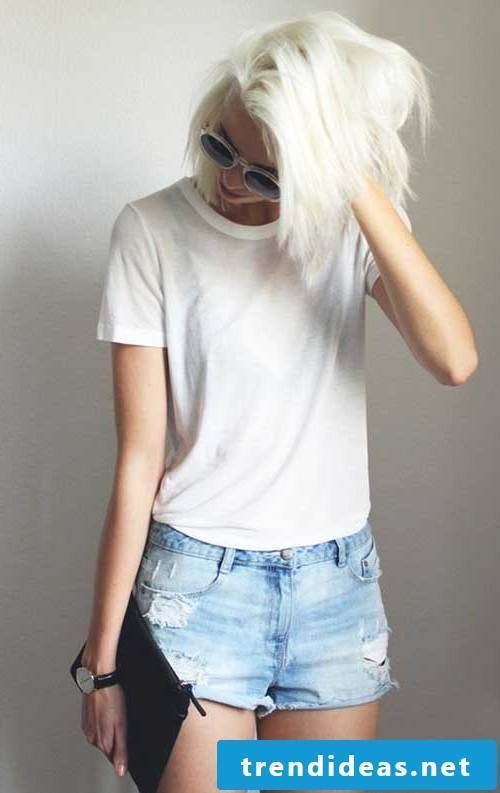 blonde hair trend color hair color hair blond bob haircut hairstyle women