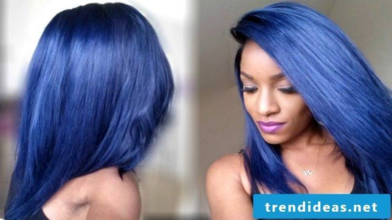blue hair hair colors blue trend hair color women men