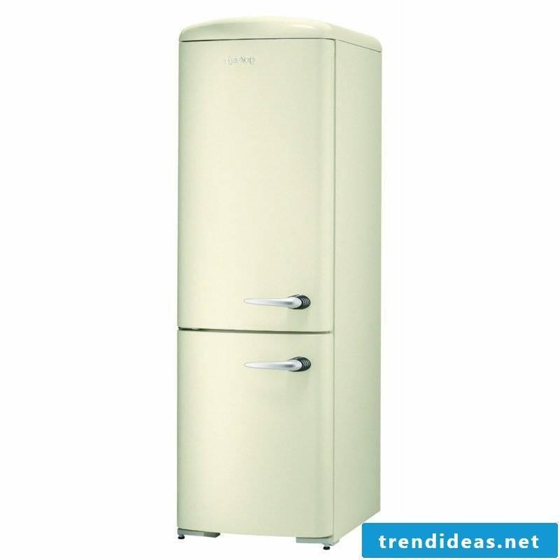 Retro fridge big white