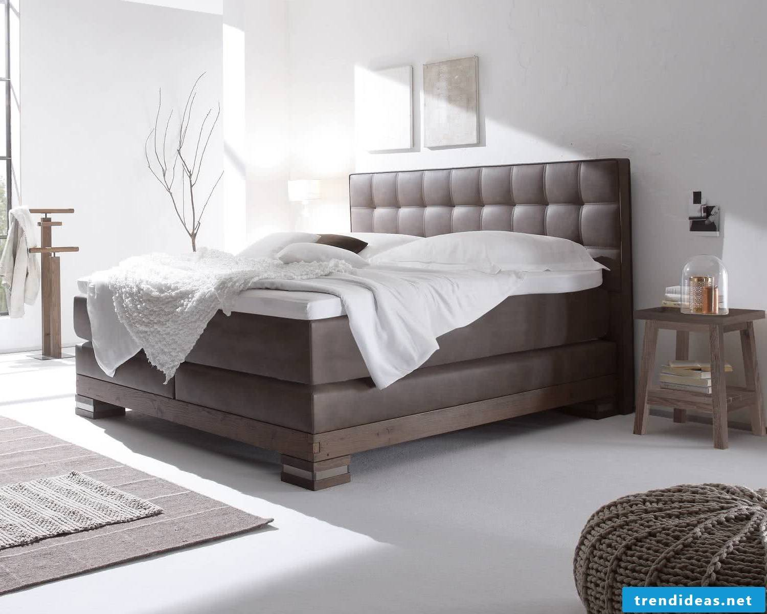 Box spring bed - the best for allergy sufferers