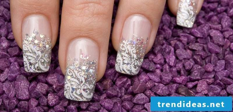 Fingernail Design Wedding Art