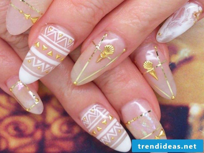 Fingernail design ideas