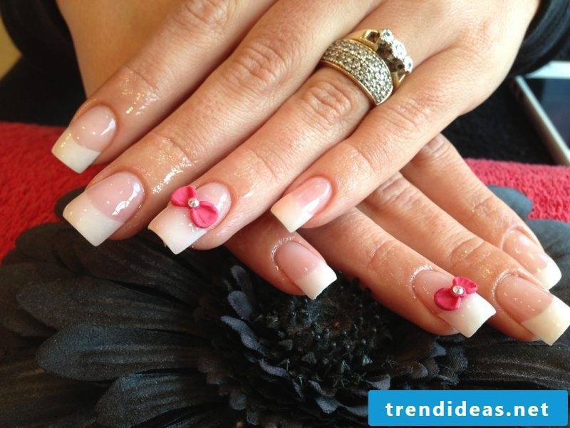 Fingernail design 3D loop