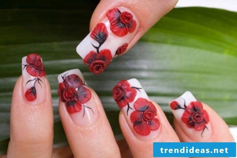 Fingernail Design 3D Acrylic
