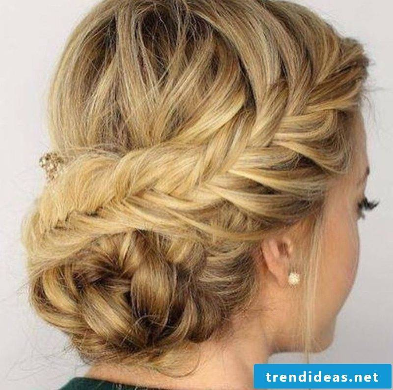 Bridesmaids hairstyles braided hairstyle