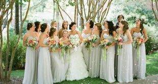 Bridesmaids Hairstyles - 25 elegant and modern ideas