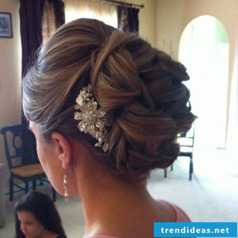 Bridesmaid Hairstyles Pinned Hair Dutt Hair Accessories