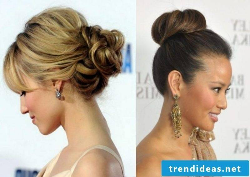 simple wedding hairstyles for the bridesmaids Dutt