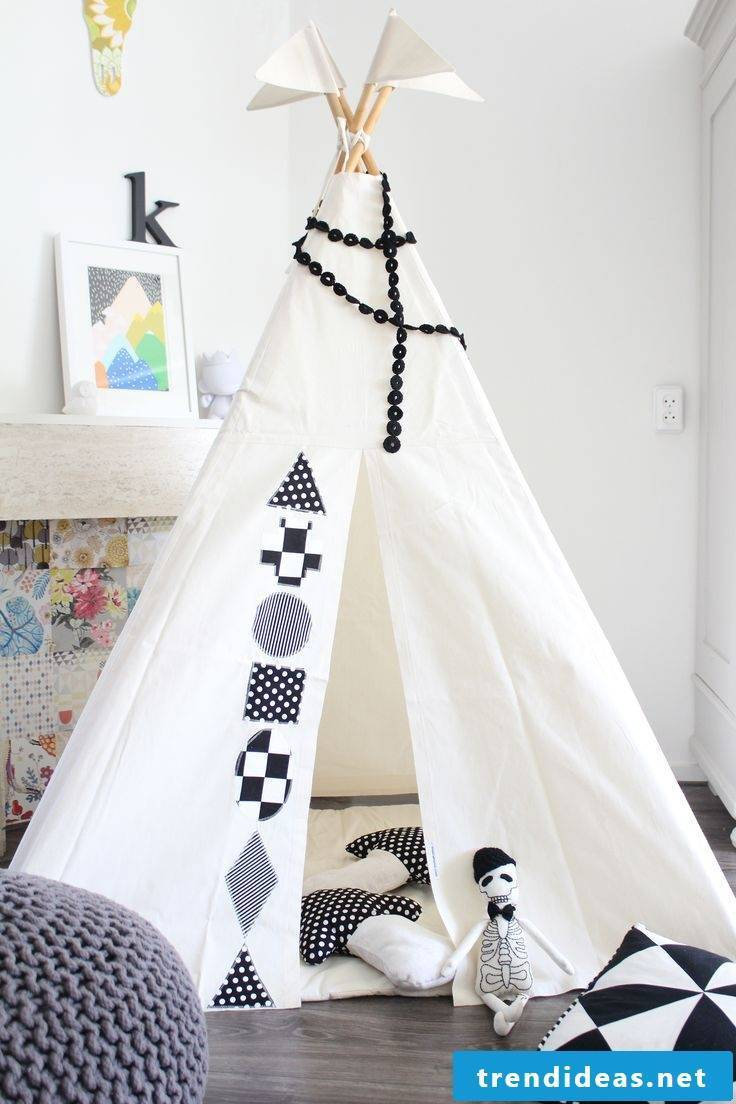Sew this beautiful tent with our great sewing ideas for beginners
