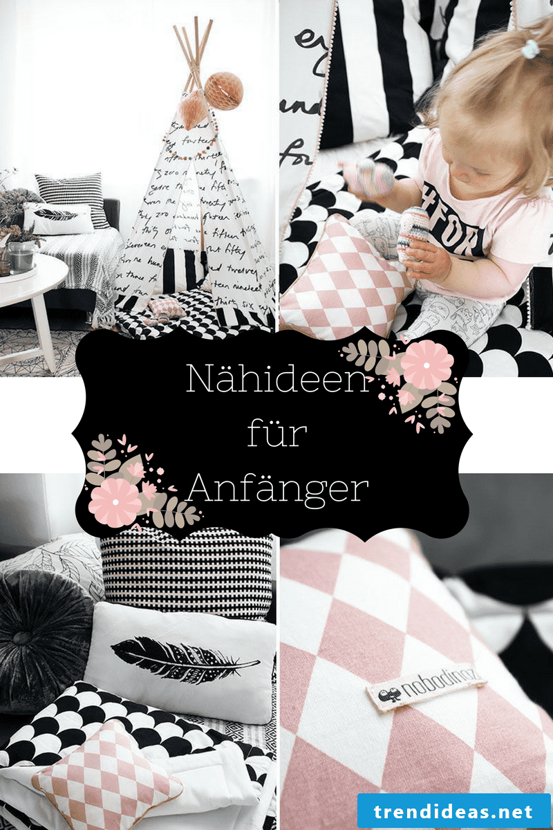 Cool sewing ideas for beginners with instructions can be found here.