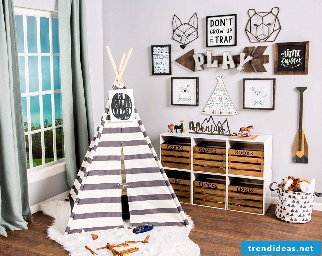 What kind of play corner will my child really enjoy?  - Sewing ideas for beginners: Teepee tent
