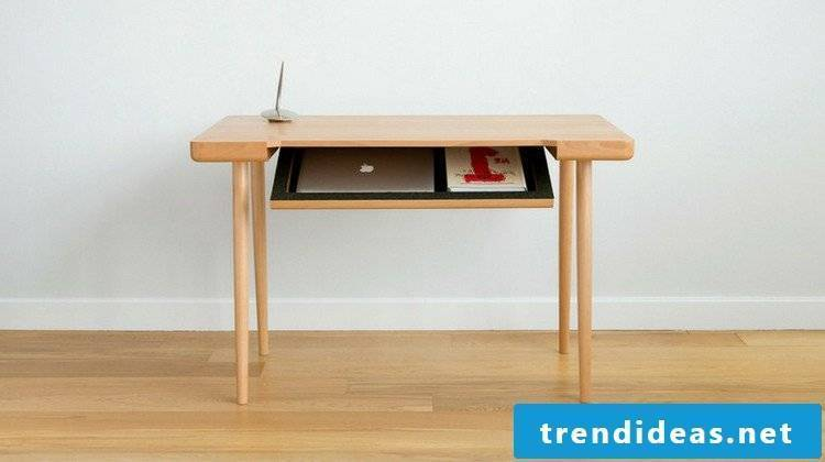 Desk yourself build instruction DIY furniture ideas