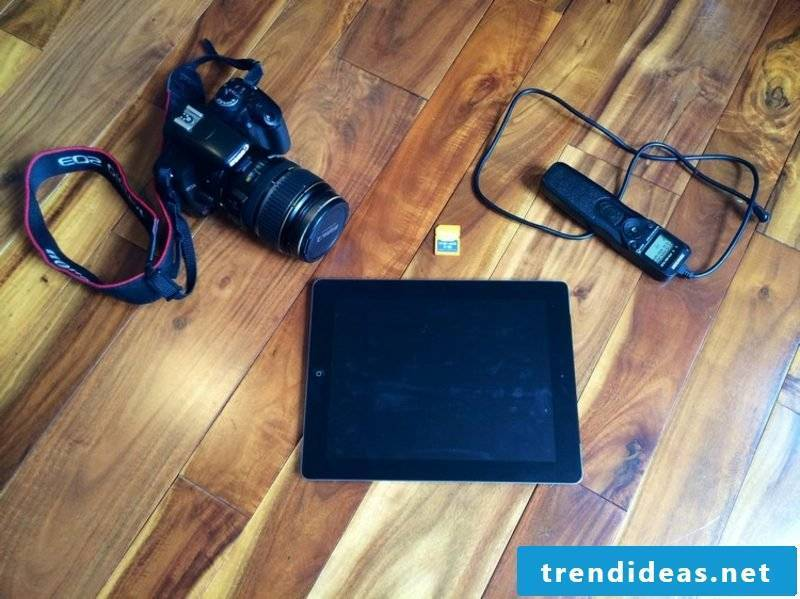 Build a photo box with your own laptop