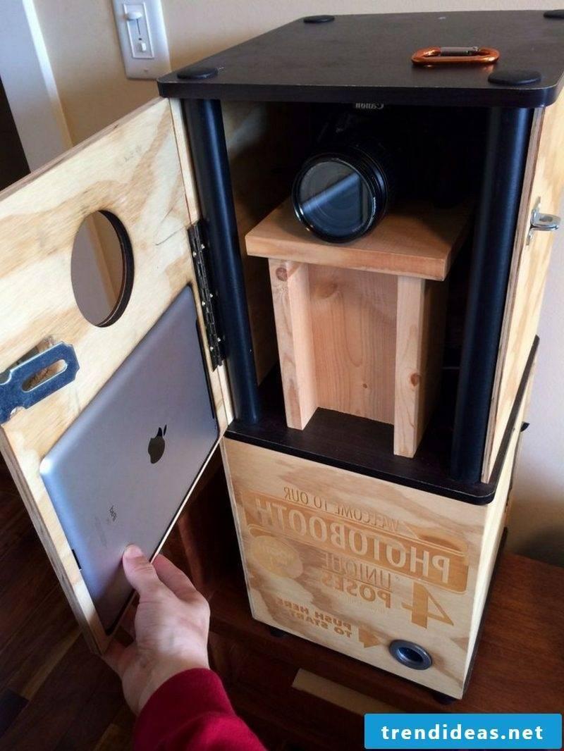 Photo box build instructions