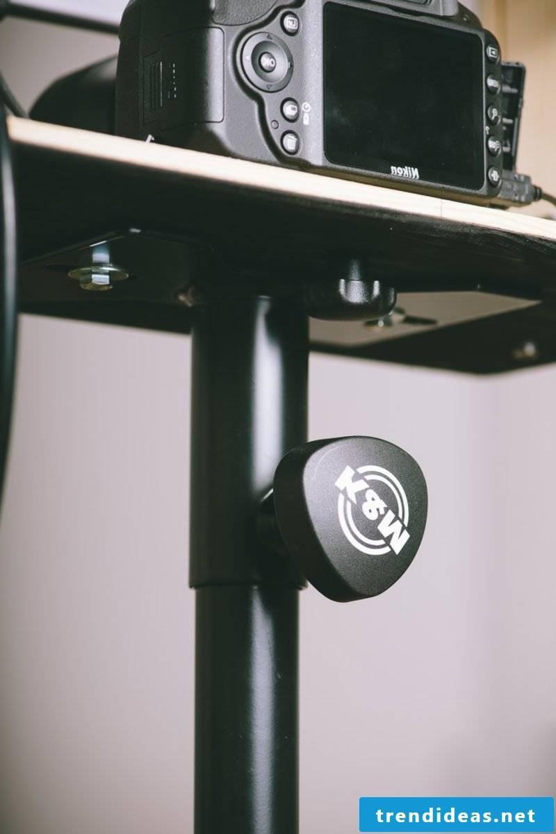 Photo box camera mount