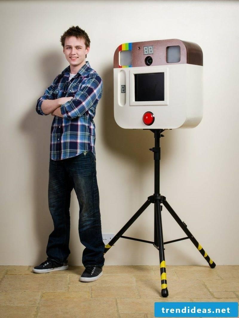 Make photo box to make photos professional