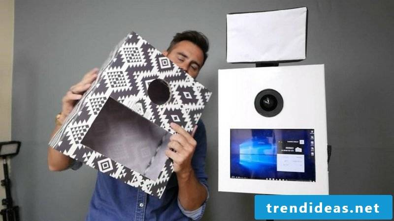 Photobox build your own cardboard