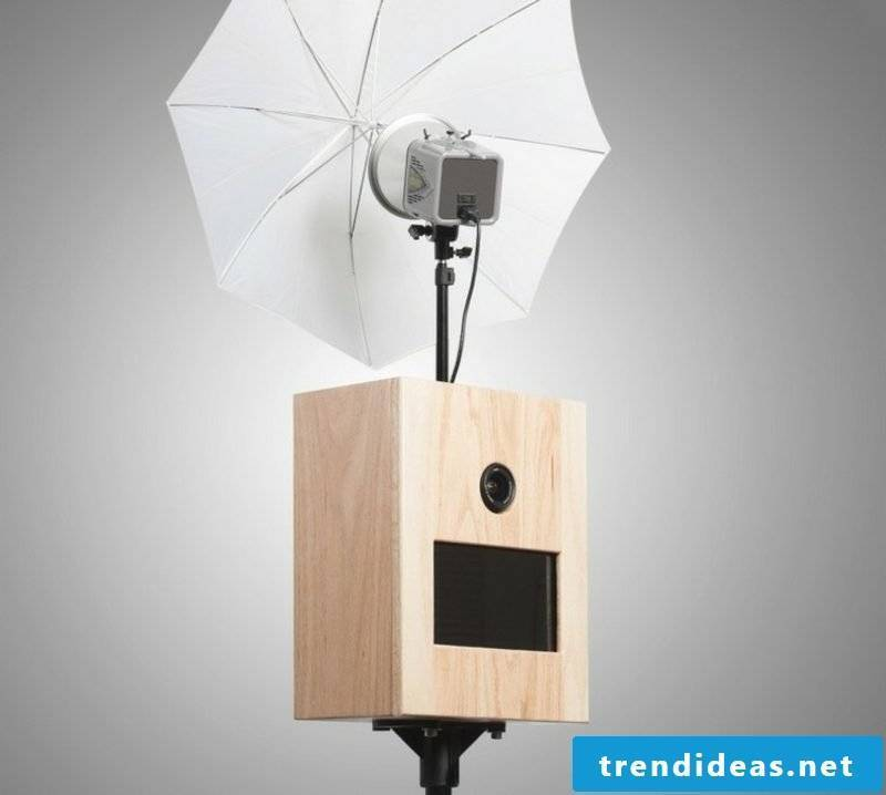 Build softbox yourself with reflex umbrella
