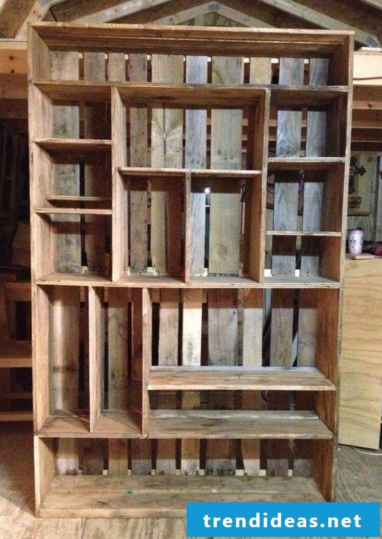 wardrobe vintage build yourself from wooden boxes