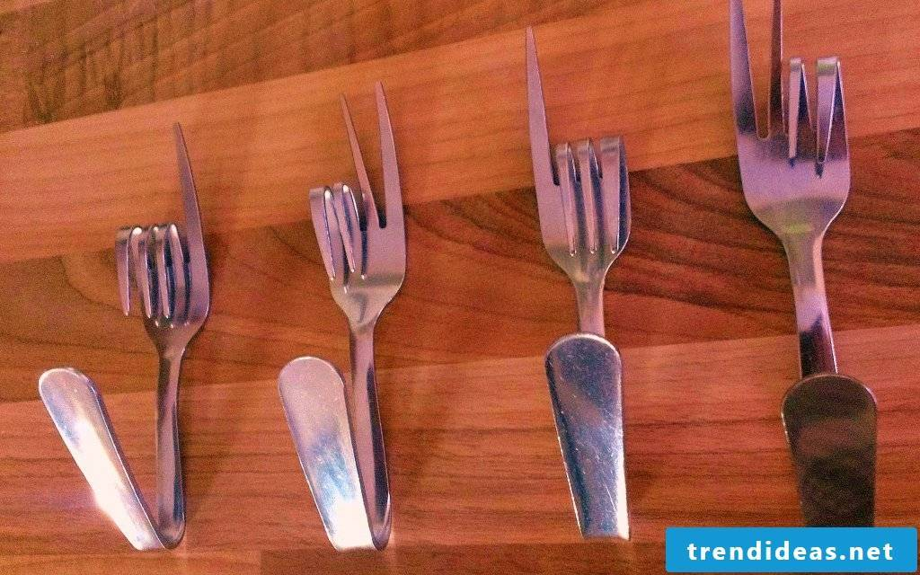 Build your own wardrobe from old cutlery