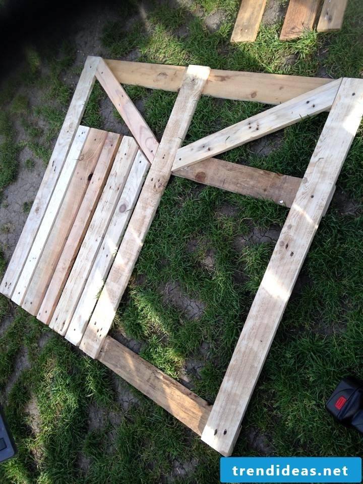 Garden Gate Build DIY Guide Step 2