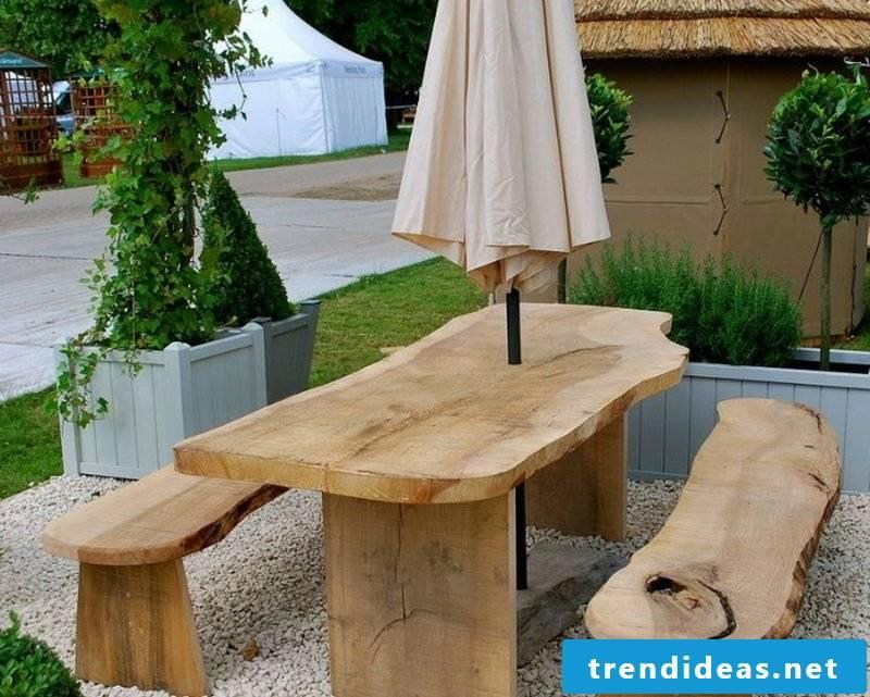 garden table build yourself cool bench garden table design