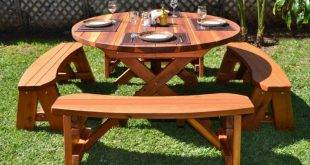 Build garden table yourself - instructions