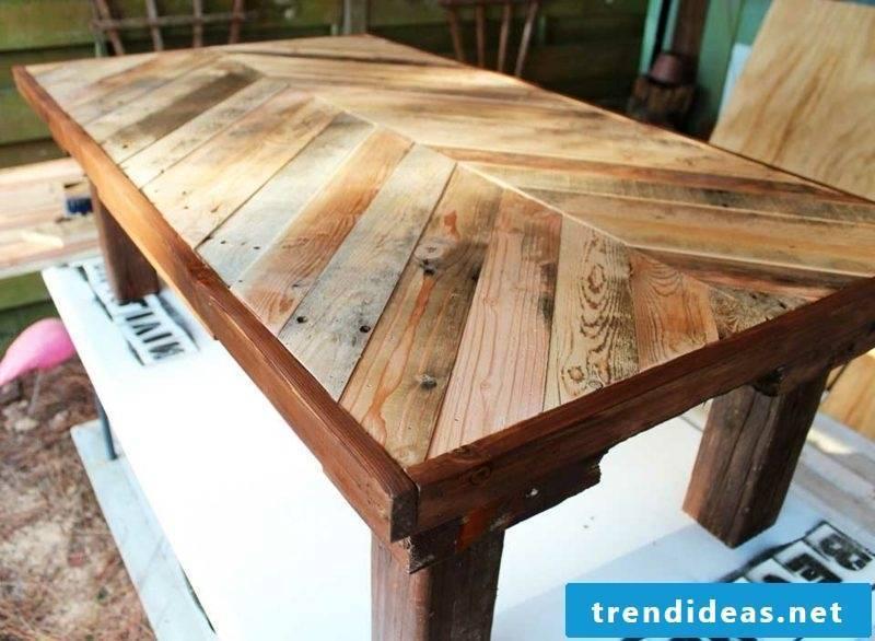 build garden table yourself