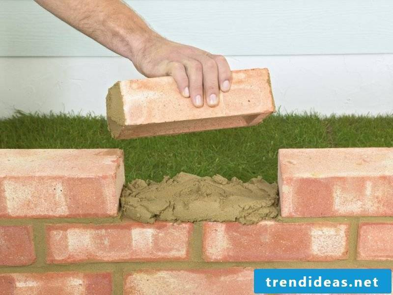 garden wall build yourself instructions garden walls types garden wall made of bricks brick wall