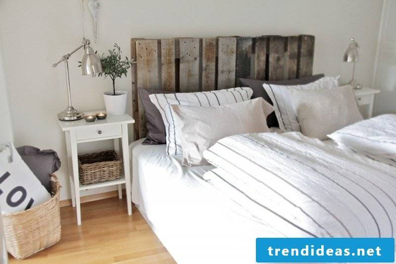 Headboard from a whole range