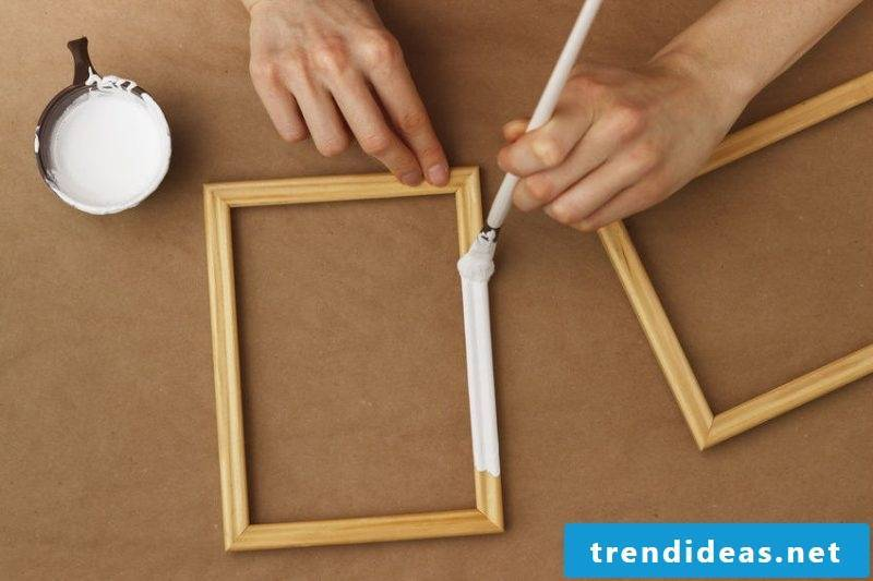 picture frames build materials themselves