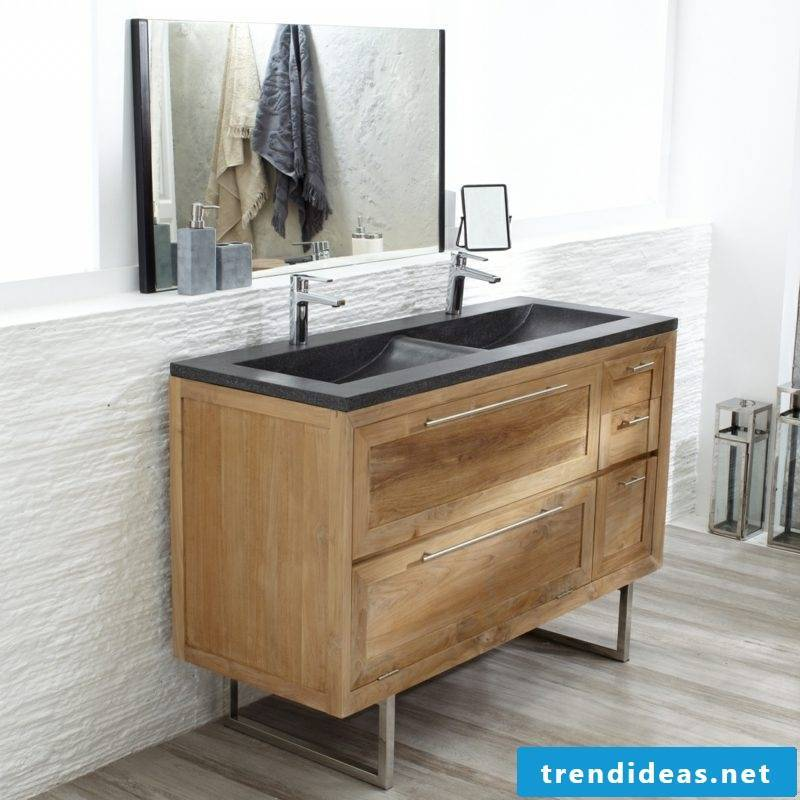 Vanity puristic design