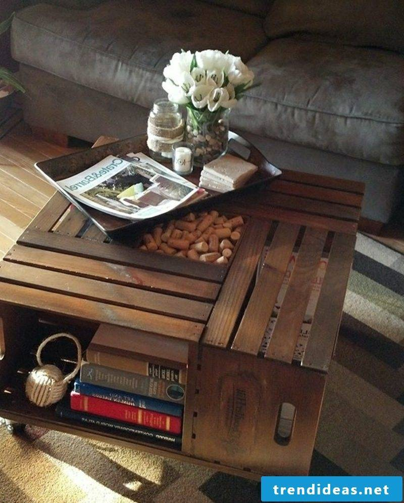 decorative wooden table pallets
