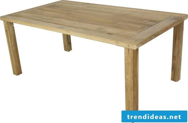 Wooden table itself build ideas and inspirations