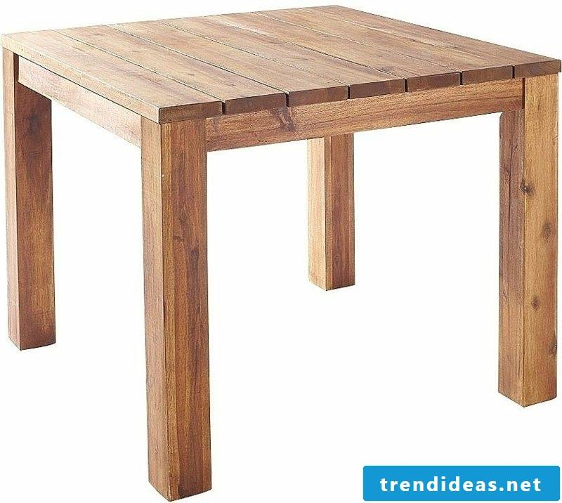 Build wooden table yourself
