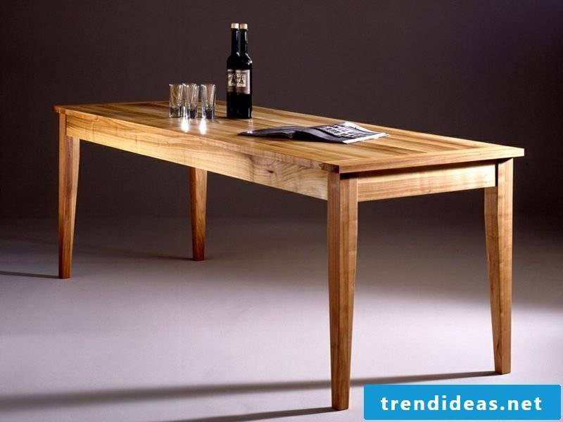 classic wooden table cherry