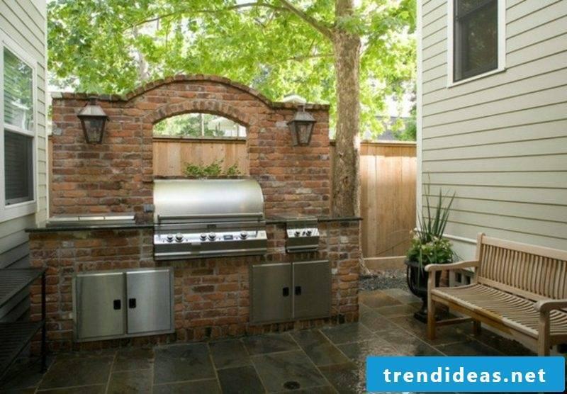 modern barbecue original ideas garden design