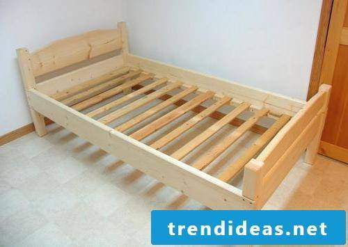 wood bed itself build instruction bedroom ideas