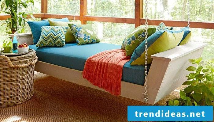 bed yourself build instruction apartment set up hammock self build diy beds garden terrace