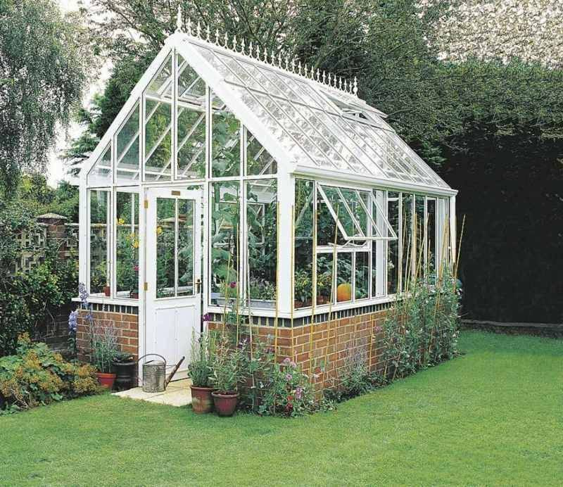 Greenhouse big stable construction