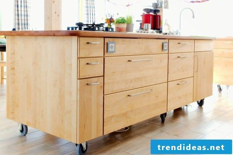 modern kitchen design kitchen island on wheels