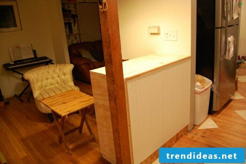 Build kitchens ideas counter yourself