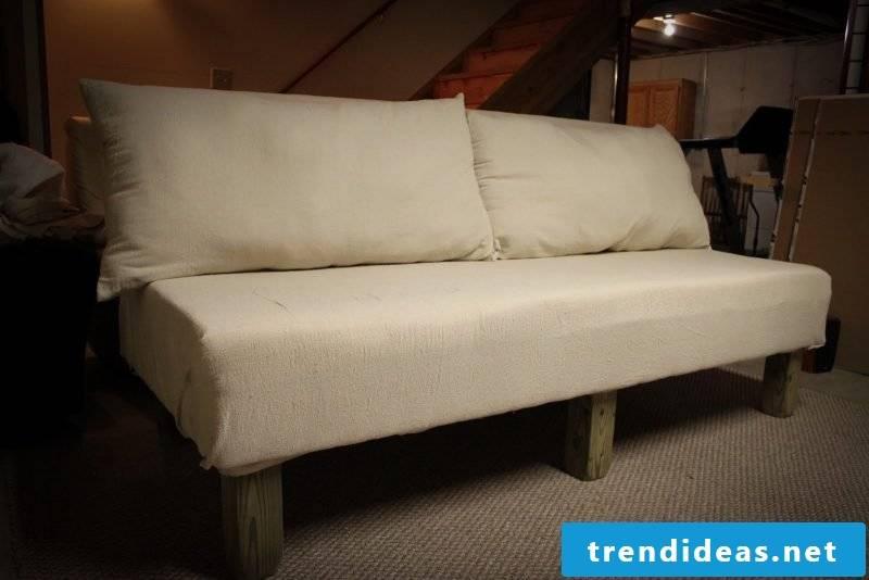 sofa itself build instruction furniture self build sofa off pallet sofa made of wood