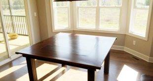 Build your own table for individual furnishing - construction manual and 20 design ideas
